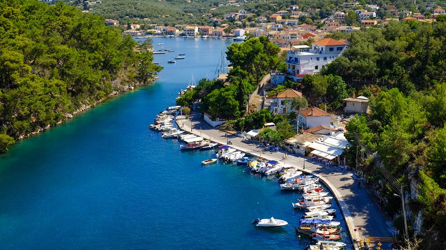 Paxoi port, Greece